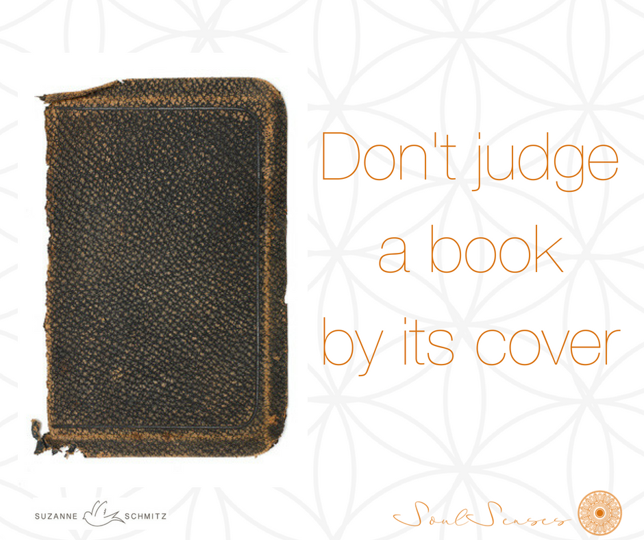 Don't judge a bookby its cover